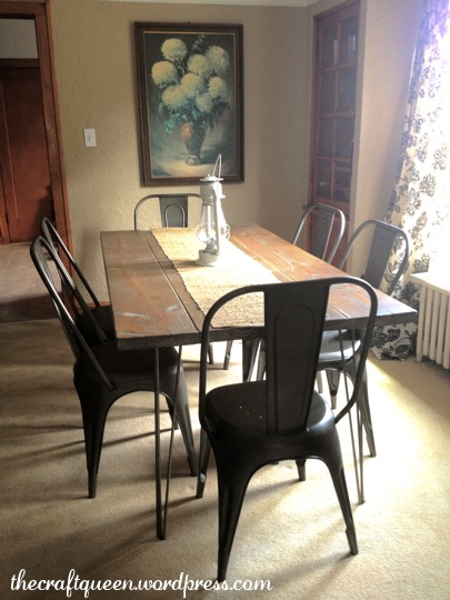 17.  Ah, finally the story of the dining room chairs! (2/2)