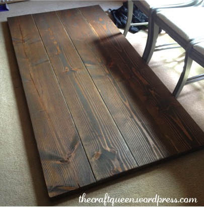 diy rustic dining table instructions