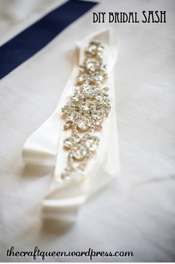 23. DIY Wedding: Bridal Sash (5/5)