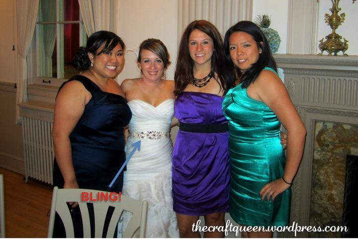 23 diy wedding bridal sash the craft queen diy bridal sash belt solutioingenieria Images