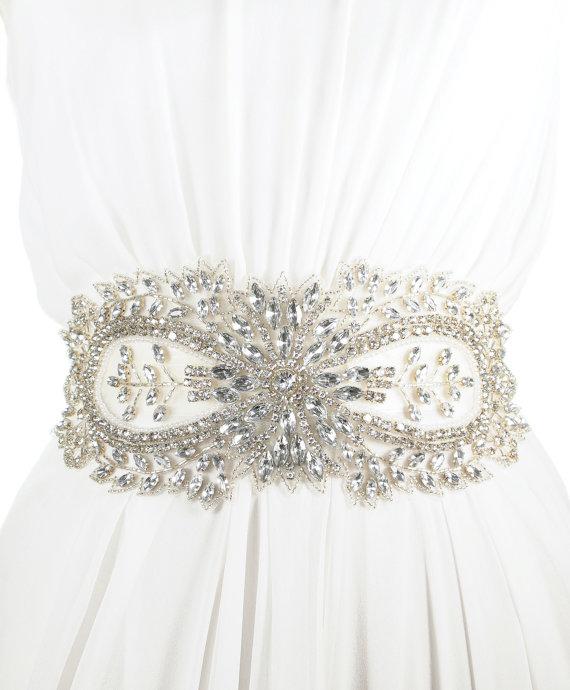 23 diy wedding bridal sash the craft queen il570xn285819935 jolie crystal bridal sash 275 source kirstenkuehndesigns 275 twohundredseventyfivedollars solutioingenieria Images
