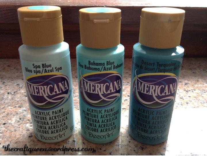 americana acrylic paint 139each
