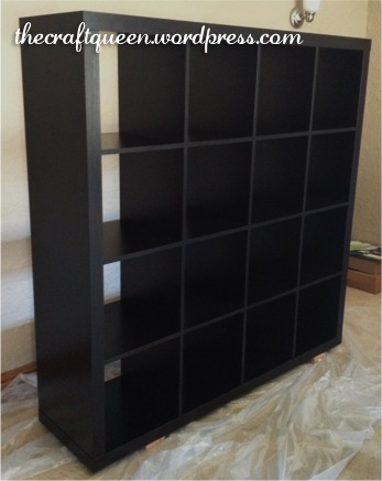 42. Before and After: IKEA Expedit Hack (1/6)