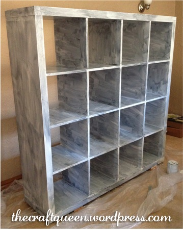 42. Before and After: IKEA Expedit Hack (3/6)