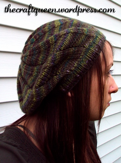 hat, slouchy beret