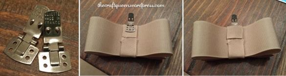 diy shoe bows clips tutorial