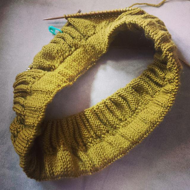 78. Knitting: New Girl Skirt (1/3)