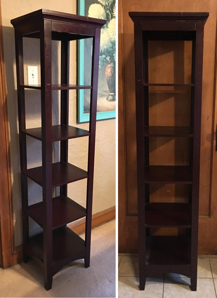 79. Before and After: Tiered Shelf (1/6)